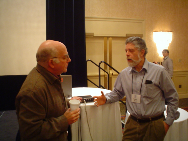 Gregory Chaitin and Bob Savit